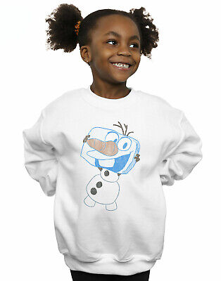 Disney Girls Frozen Olaf Ice Cube Sweatshirt