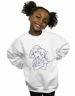 Disney Girls Aladdin Princess Jasmine Constellation Sweatshirt