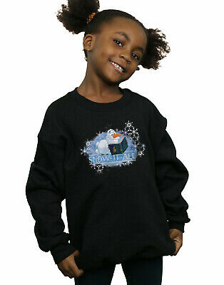 Disney Girls Frozen 2 Olaf Snow It All Sweatshirt