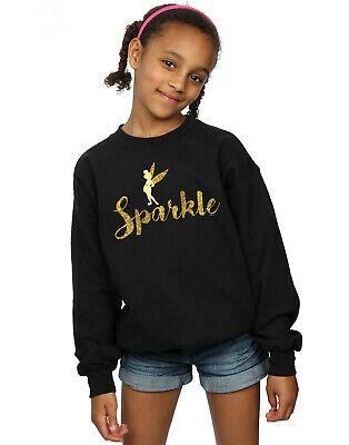 Disney Girls Princess Tinker Bell Sparkle Time Sweatshirt