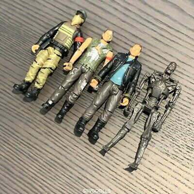 4x TERMINATOR SALVATION JOHN CONNOR Marcus 2009 Action Figure Playmates toys
