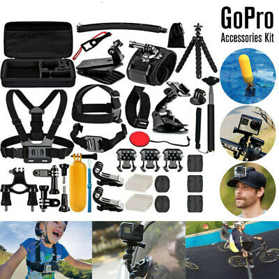 Sports Camera Accessories Kit Set For GoPro Go pro Hero 8 7 6 Outdoors USA