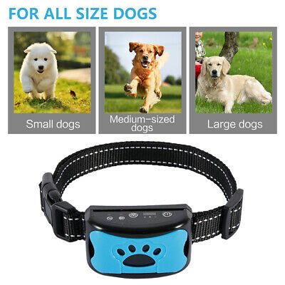 BarkStop Anti Bark Collar Barking Dog Small Medium Large No Shock Beep Vibration