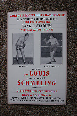 CANVAS Boxers Max Schmeling Whispering to Joe Louis Art Print POSTER