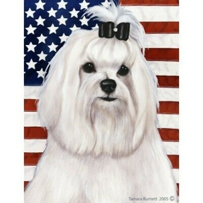 Patriotic (D2) House Flag - Maltese (Show) 32221
