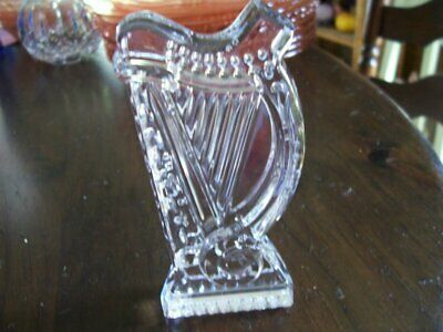Waterford crystal Harp paperweight