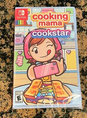 Cooking Mama: Cookstar (Nintendo Switch, 2020) Brand New Sealed In Hand