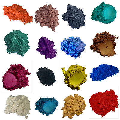 Mica Pigment Powder - 4 Variety Pack Epoxy Acrylic Soap Cosmetics Nails Candles