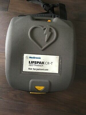 Physio Control Medtronic LifePak CRT trainer in customised case Medical GP use