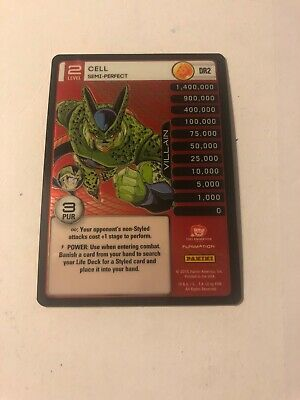 Dbz Ccg Panini Tcg Perfection Dragon Rare Booster Foil Cell Semi Perfect DR2