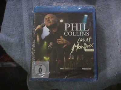 PHIL COLLINS Live At Montreux 2004 [Bluray] [2012] [DVD] NEW SEALED - FOREIGN