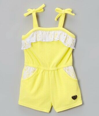 NWT Juicy Couture Toddler Girls One Piece Terry Romper SZ 3T $59.50