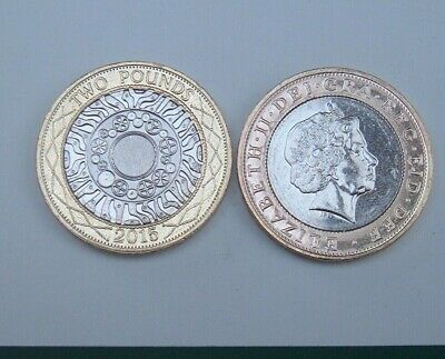 GB Elizabeth II. £2 Pounds 2015 Technology.  About Uncirculated.  Coin Hunt