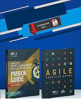 PMBOK Guide 6th + Agile + 2000 Q&As + Formulae + Study Notes and more (P.D.F)