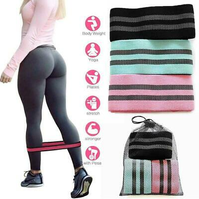 Circle Loop Resistance Bands Heavy Duty Booty Band Set Workout Exercise Bands
