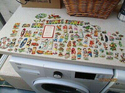 A Large Selection of Antique and Vintage Scraps.
