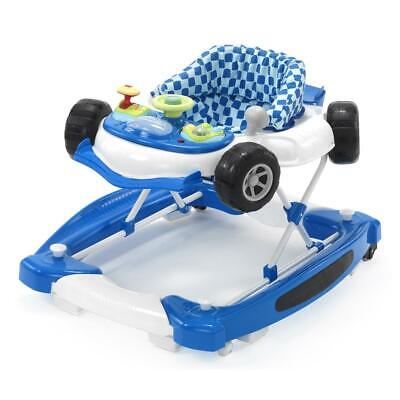MyChild Car Walker/Rocker (Blue) Suitable From 6 Months with Playtray