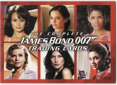 The Complete James Bond 007 Promo Card P1