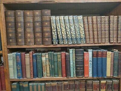 Vintage books Fill up 12 ft of Space -- All books older than 1911