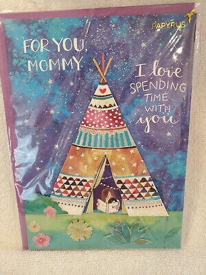 New Papryus Mothers Day Greeting Card Retails For 5.95