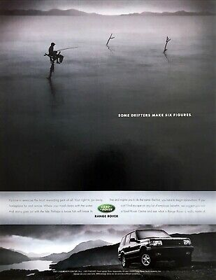 """2001 Land Rover Range Rover photo """"Exercise Your Right to Go Away"""" print ad"""