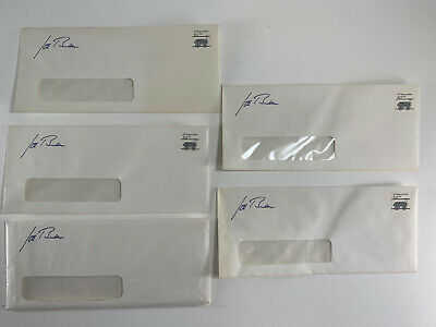 (5) Joe Biden For President 1988 Campaign Official Envelope Lot Vintage