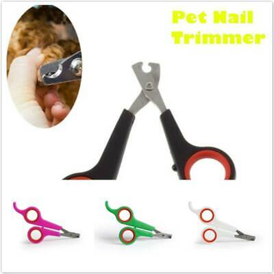 Pet Nail Clippers Dog Cat Rabbit Bird Guinea Pig Easy Claw Trimmers Scissors Z