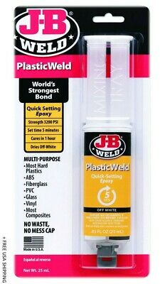 J-B Weld Plastic Weld High Strength Gel Automotive Epoxy 0.85 onz | 50132