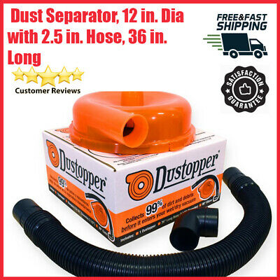 New High Efficiency Dust Separator Cyclonic Plastic Patent-Pending Chamber