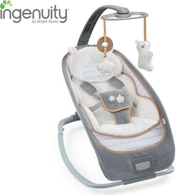 Baby Portable Swing Bouncer Rocker with soothing vibrations Music Bella Teddy