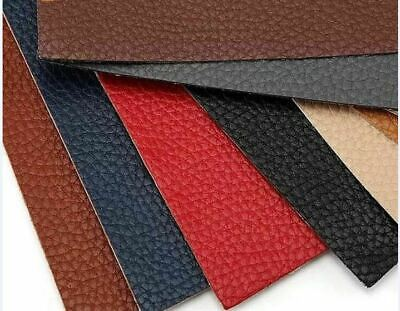 Stick On Repair Patch 20x10cm 12 Colors Leather Patches For Shoes Sofa Repairs