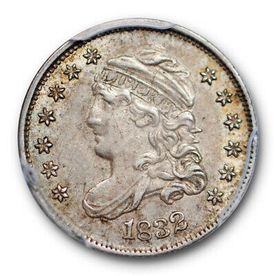 1832 Capped Bust Half Dime PCGS AU 58 About Uncirculated CAC Approved