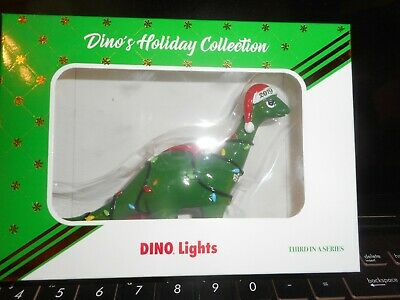 Sinclair 2017 Dino Dinosaur Holiday Ornament NIP ONLY ONE THAT HAS THEM ON