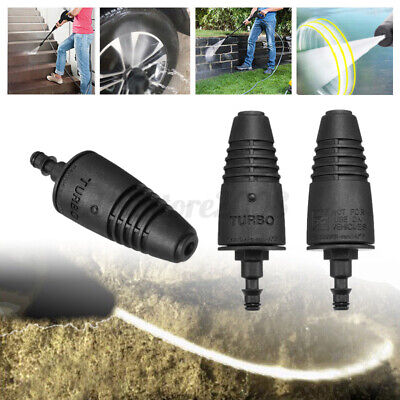 Pressure Washer Rotating Turbo Head Nozzle Spray For Karcher LAVOR COME VAX ;