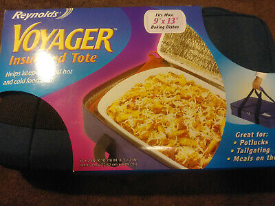 Reynolds Insulated Casserole Carrier for 9x13 Baking Dish~Holiday Potluck NEW
