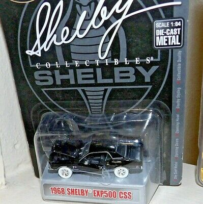 SHELBY COLLECTIBLES RAW CHASE 1968 SHELBY EXP500 CSS