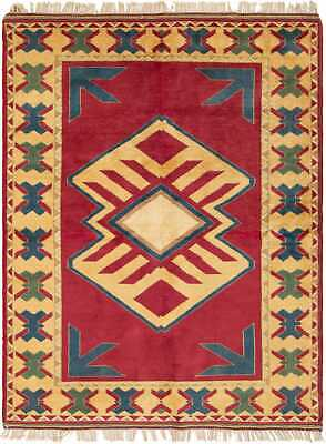"Hand-knotted Turkish 5'0"" x 6'9"" Melis Wool Rug...DISCOUNTED!"