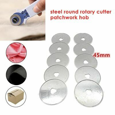 45mm Rotary Cutter Blade Patchwork Leather Fabric Paper Circular Cut Blade Tools