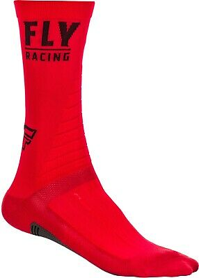 Fly Racing Fly Factory Rider Socks Red/Black Sm/Md