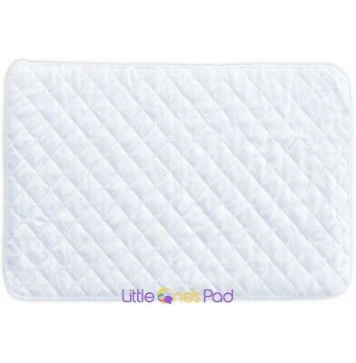 Little One's Pad Pack 'n Play / Portable / Mini Fitted Crib Mattress Protector