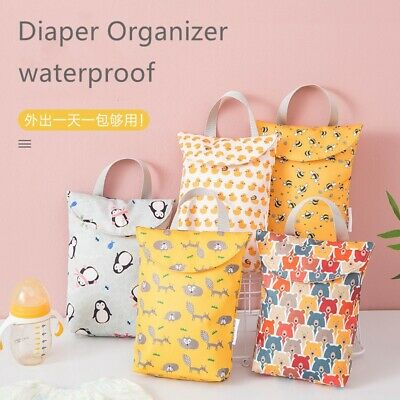 NEW BBABLE Portable Waterproof Diaper Changing w// Wet Dry Bag