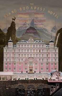The Grand Budapest Hotel movie poster (a)  : 11 x 17 inches : Wes Anderson