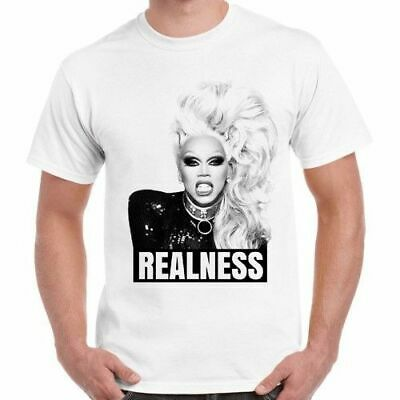 Shady Realness T-shirt Rupaul Drag Race Fishy Funny Slogan Tee Pride LGBT