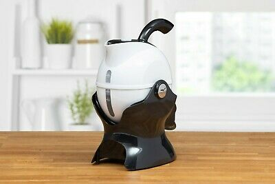 Uccello Kettle Tipper 1.5 Litre Black and White