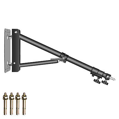 Neewer Triangle Wall Mounting Boom Arm for Photography Studio Video Strobe Light
