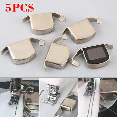 5pcs Sewing Machine Foot Magnetic Seam Edge Guide Tool Kits For Brother Singer