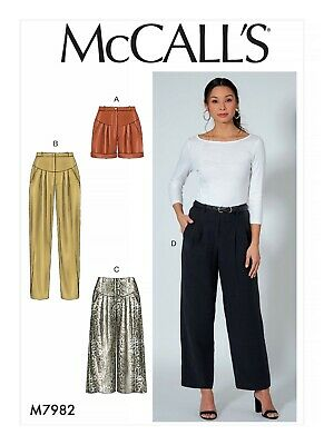McCall/'s 7942 Sewing Pattern to MAKE Tops /& Trousers Adult /& Child Learn to Sew