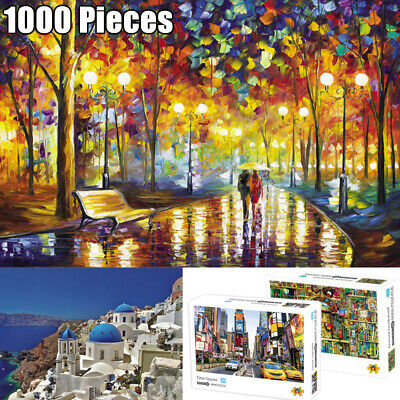 1000 Pieces HD Mini Jigsaw Puzzle For Adult Kids Educational Toys Patience Focus