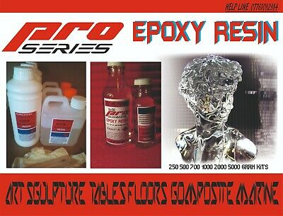Epoxy Resin Starter Kit Clear Art 500g Fast Cure