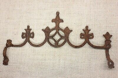 """old Widow's Walk architectural finial fence top rusty iron gothic look 13"""""""